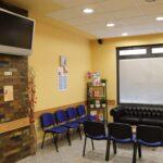 Television de sala de espera
